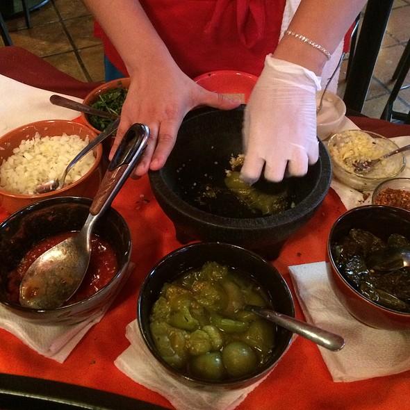 tableside salsa - Guadalajara Original Grill, Tucson, AZ
