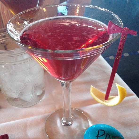 Pomagranite Martini  - The Fort, Morrison, CO