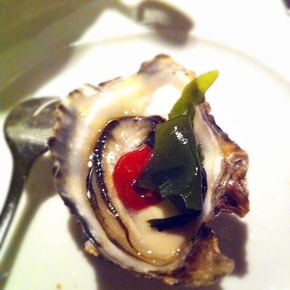 Oyster In Araxi Were Soooo Fresh N Tasty - Araxi Restaurant & Oyster Bar, Whistler, BC