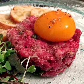 steak tartare - Spring House Restaurant, Kitchen & Bar, Winston-Salem, NC