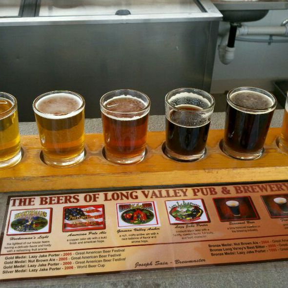 Beer Sampler - The Long Valley Pub & Brewery, Long Valley, NJ