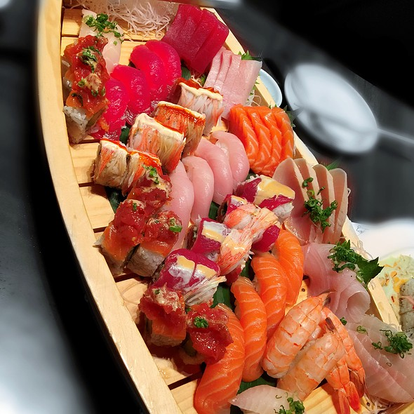 Sushi & Sashimi Boat - The Blue Fish - North Dallas, Dallas, TX