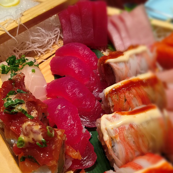 Tuna Sushi, Sashimi & Rolls - The Blue Fish - North Dallas, Dallas, TX