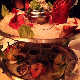 Seafood Tower - The Capital Grille - Fort Worth, Fort Worth, TX