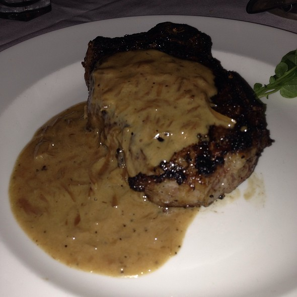 Porcini Rubbed Delmonico With 15-Year Aged Balsamic - The Capital Grille - Fort Worth, Fort Worth, TX