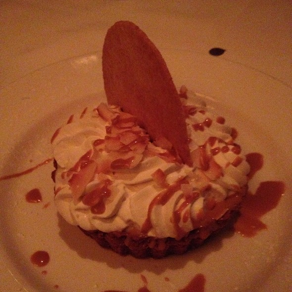 Coconut Cream Pie - The Capital Grille - Fort Worth, Fort Worth, TX