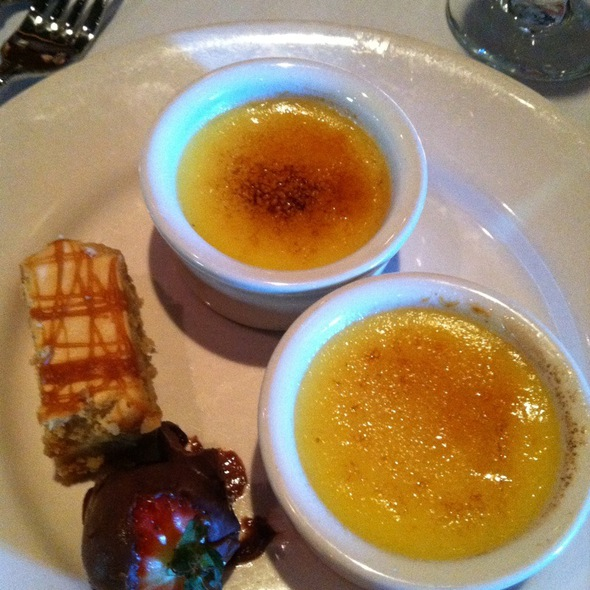 Creme Brulee - Spaghettini Grill and Jazz Club, Seal Beach, CA
