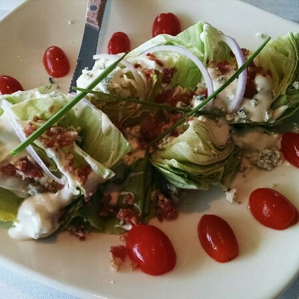 Baby Iceberg Wedge Salad - Steamers of Pismo, Pismo Beach, CA