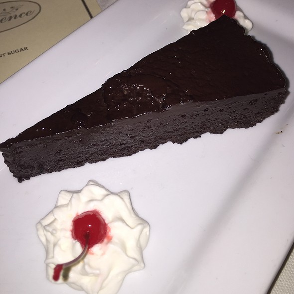 Flourless Chocolate Tort - A La Provence, Tallahassee, FL