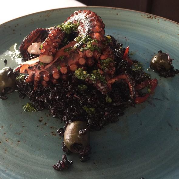 Grilled Octopus - Cafe Del Rey, Marina Del Rey, CA