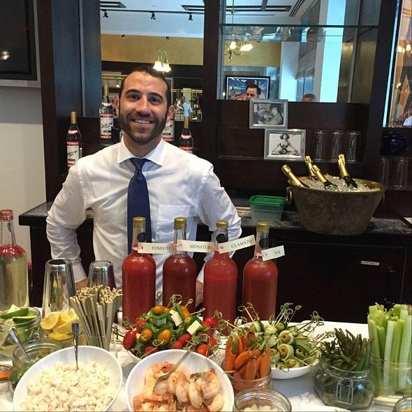 Bloody Mary Bar - Chez Colette - Sofitel Philadelphia, Philadelphia, PA