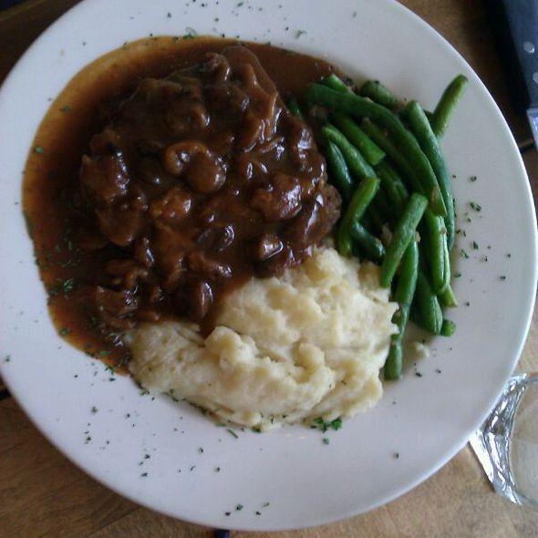 Elk Meatloaf - Cottonwood Grille, Boise, ID