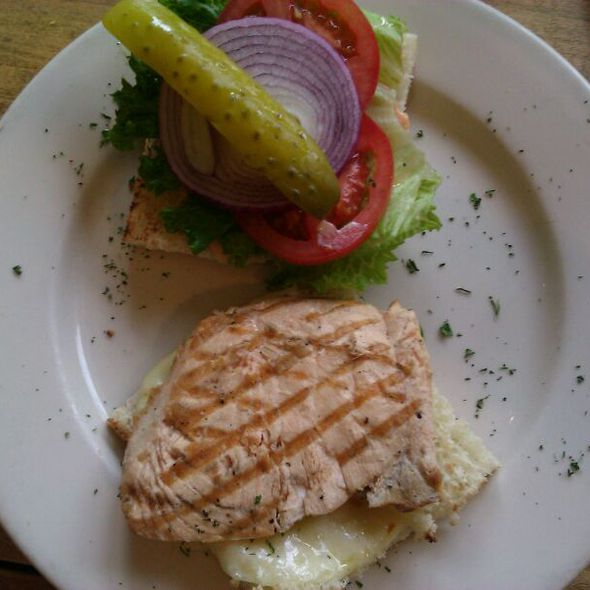 Grilled Salmon Melt - Cottonwood Grille, Boise, ID