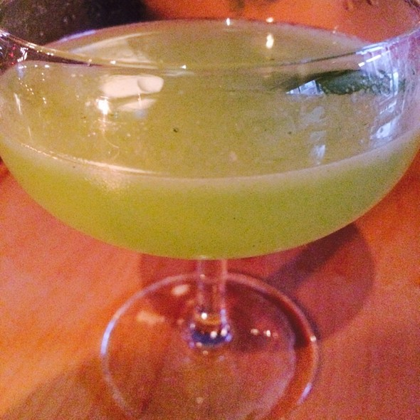 Cucumber & Basil Gin Martini - Sidecar, Toronto, ON