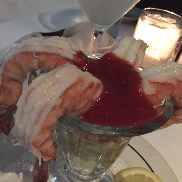 Giant Shrimp Cocktail - Lucky's, Santa Barbara, CA