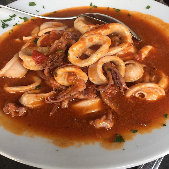 Sauteed Calamari in Marinara - Benevento's, Boston, MA