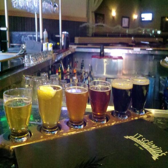Beer Sampler - JT Schmid's, Anaheim, CA