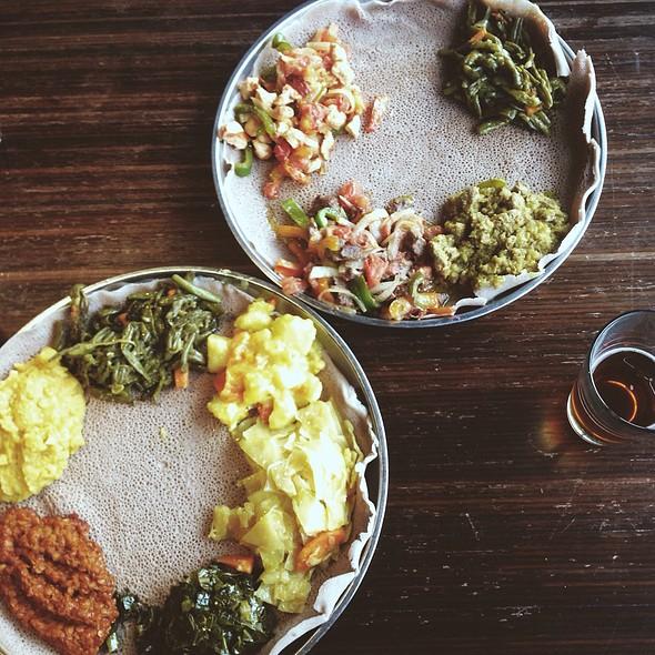Combo Platter - Addis Ethiopian, Richmond, VA