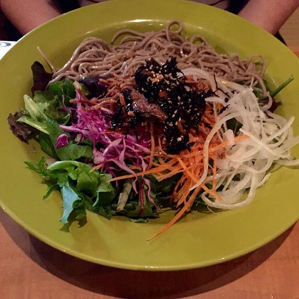 Soba Salad - Restaurant Soba Nippon, New York, NY