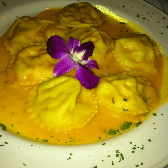 Blue Crab Stuffed Ravioli With Scallops - La Grotta - Richmond, Richmond, VA