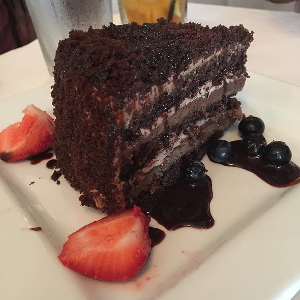 Triple Chocolate Cake - Trattoria Gianni, Chicago, IL