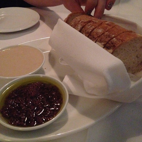Bread With White Bean Puree And Olive Tapenade - Lupo by Wolfgang Puck, Las Vegas, NV