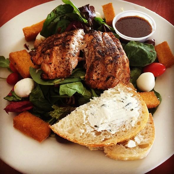 Rustica Salad With Salmon - Pane Rustica, Tampa, FL