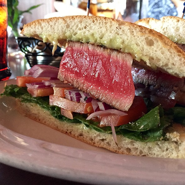 seared ahi sandwich - Peppercorn Grille, Big Bear Lake, CA