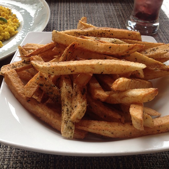 Hand Cut Fries - Ovelia Psistaria Bar, Astoria, NY