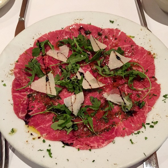 Beef Carpaccio - Arabesque, New York, NY