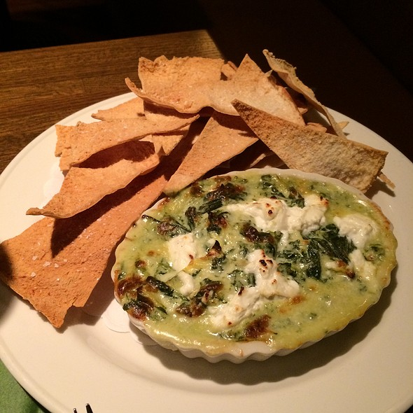 Sautéed Spinach Dip - Trumbull Kitchen, Hartford, CT