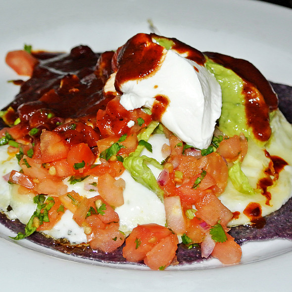 Huevos rancheros - Agave, New York, NY