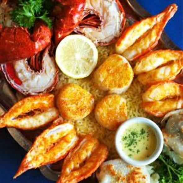 Seafood Platter - Terra Mare Restaurant, Dollard-Des-Ormeaux, QC