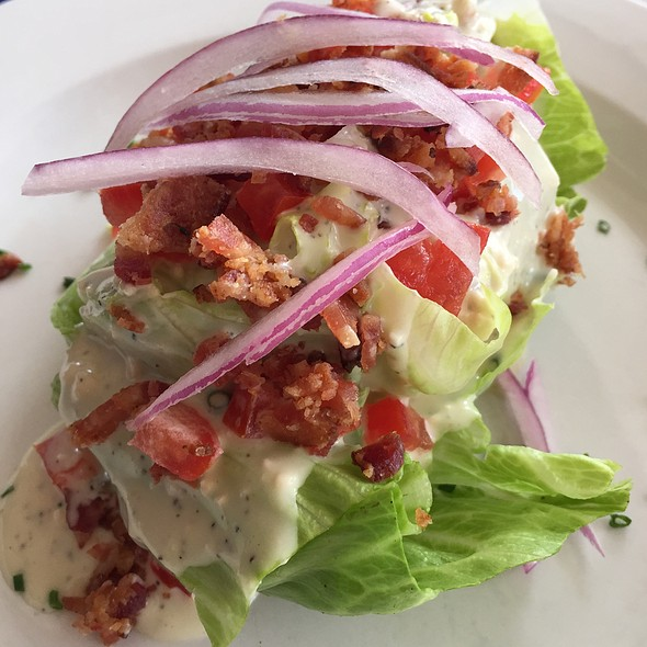 Wedge Salad - Zin American Bistro, Palm Springs, CA