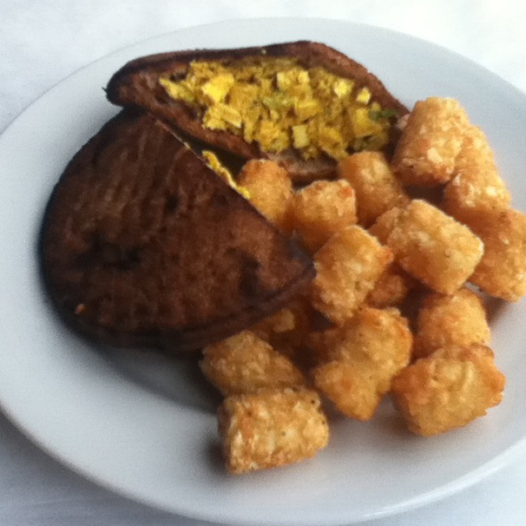 Curry Chicken Sandwich - Edibles Restaurant, Rochester, NY