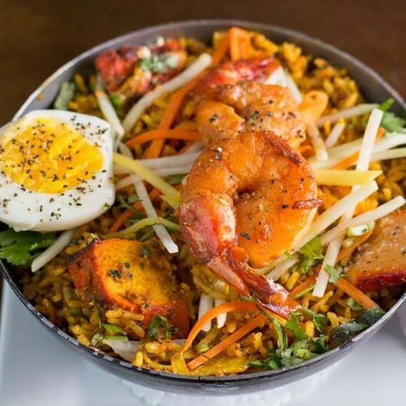 Curry Chicken Fried Rice - Rasoï, Montréal, QC