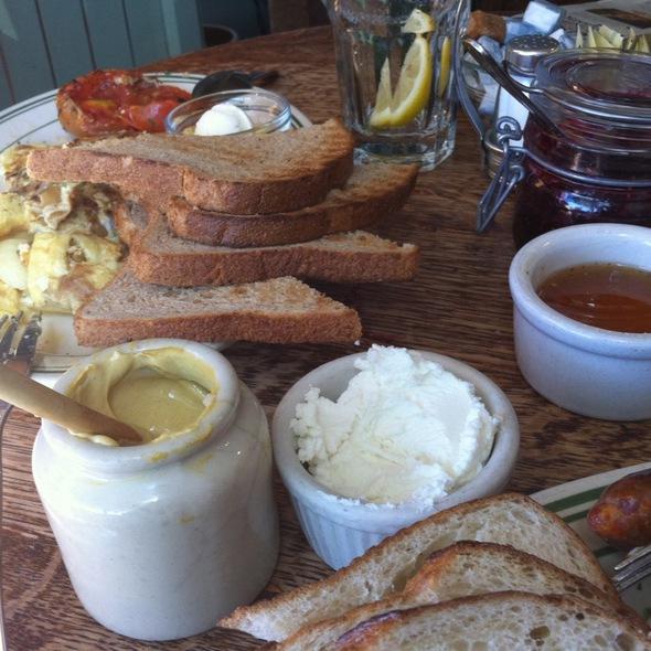 French Breakfast - La Note Restaurant Provencal, Berkeley, CA