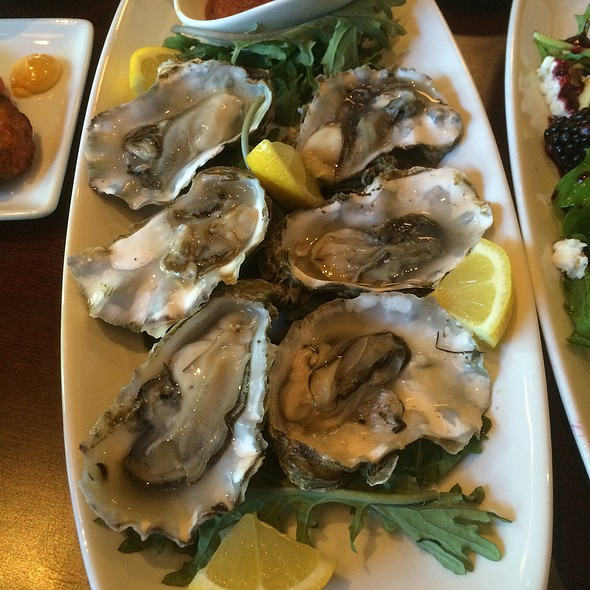 Oysters on the Half Shell - The Cellar Restaurant, Coeur d'Alene, ID