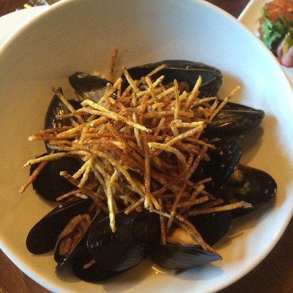 Mussels With Bacon And Miso - The Cellar Restaurant, Coeur d'Alene, ID