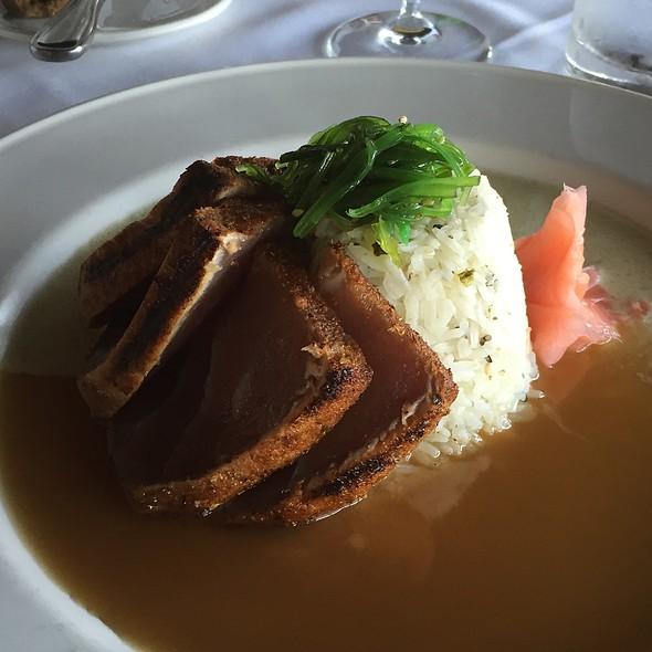 Essence Of Tuna - Chart House Restaurant - Marina del Rey, Marina Del Rey, CA