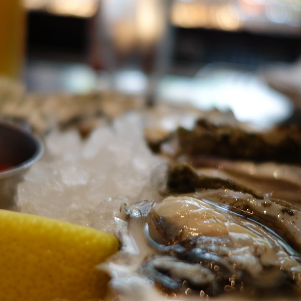 Happy Hour Oysters - Blueacre Seafood, Seattle, WA