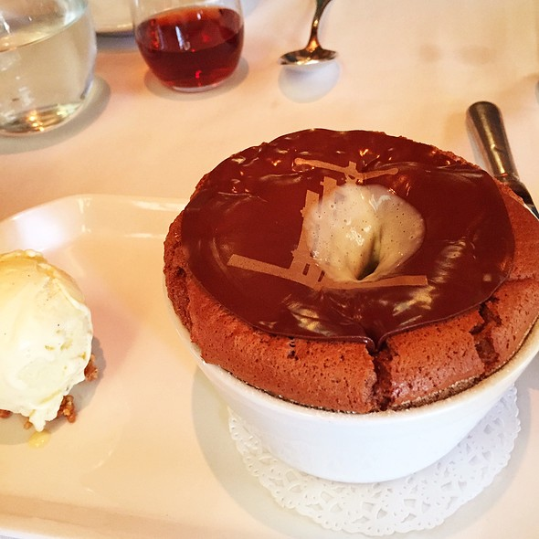 Chocolate Souffle - PRESS, St. Helena, CA