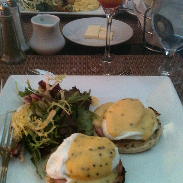Eggs Benedict - Glass House Tavern, New York, NY
