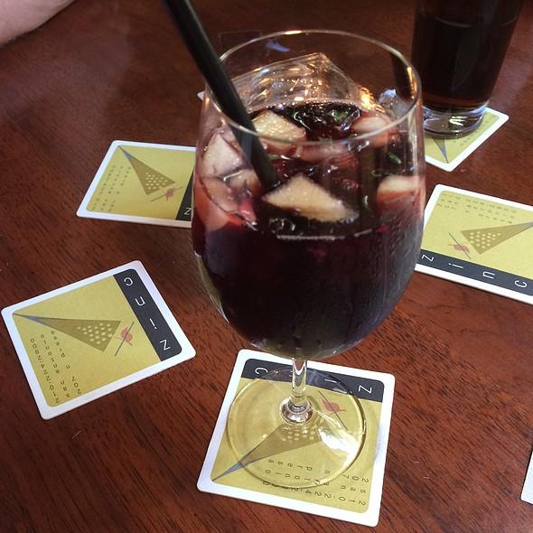 Sangria - Zinc Bistro & Wine Bar, San Antonio, TX