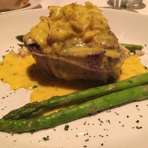 8 Oz Filet Mignon Oscar Style - Sullivan's Steakhouse - Omaha, Omaha, NE