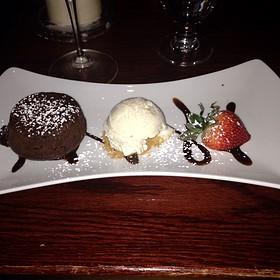 Chocolate Molten Cake - Sotto Sopra, Baltimore, MD