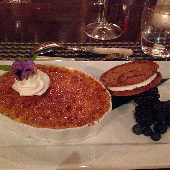 Meyer Lemon Creme Brulee - Olive and Vine - Glen Ellen, Glen Ellen, CA