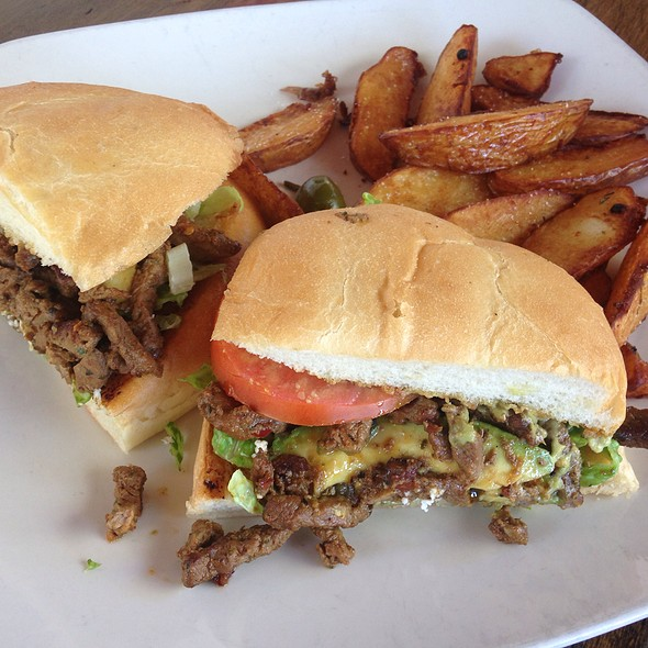 Carne Asada Torta With Crispy Potatoes And Added Avocado - Maria's Cantina, Woodland, CA