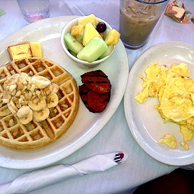 Island Style Waffles - Island Lava Java Bistro, Kailua, HI