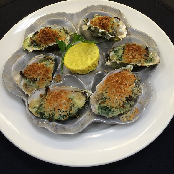 Oysters Rockefeller - The Broiler Steak & Seafood - Boulder Station Hotel & Casino, Las Vegas, NV